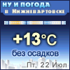 Ну и погода в Нижневартовске - Поминутный прогноз погоды